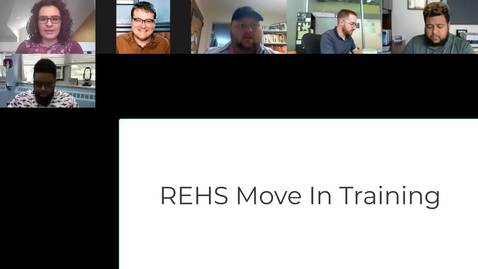Thumbnail for entry REHS Move In Training for Live In Staff