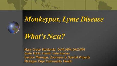 Thumbnail for entry VM_544-09092010-Lyme-Disease-Stobierski
