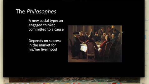 Thumbnail for entry Lecture 1.3 - Part 6 (Philosophes and Salons)