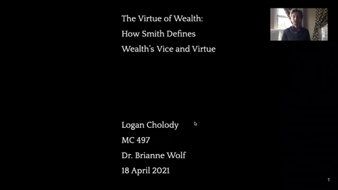 Thumbnail for entry The Virtue of Wealth Presentation