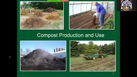 Thumbnail for entry Compost production and use for the small and mid-sized farm