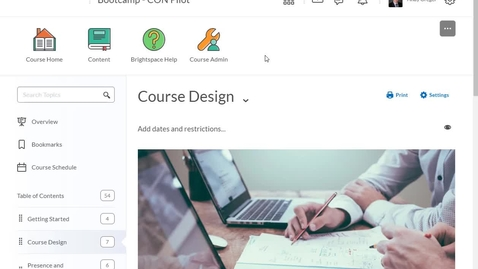 Thumbnail for entry Course Nav Icons