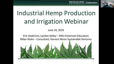 Thumbnail for entry Hemp Webinar - Anderson