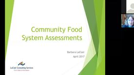 Thumbnail for entry BarbaraLaClair_CommunityFoodAssessments_April2017