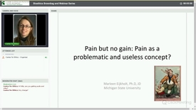 Thumbnail for entry Pain But No Gain: Pain as a Problematic and Useless Concept?