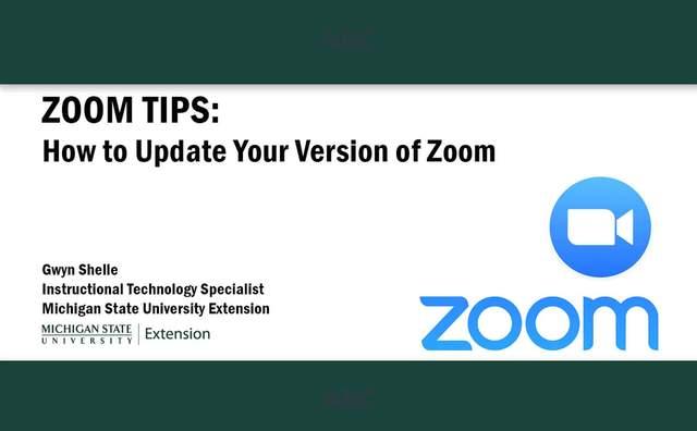 Zoom Meetings/Webinars - Organizational Development