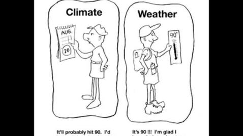 Thumbnail for entry Weather versus Climate