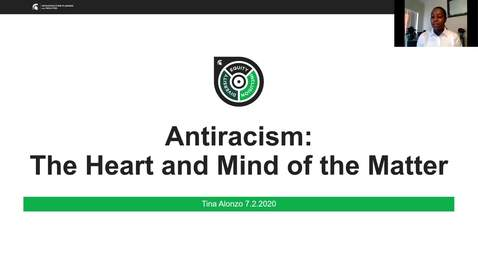 Thumbnail for entry Anti-racism: The Heart and Mind of the Matter