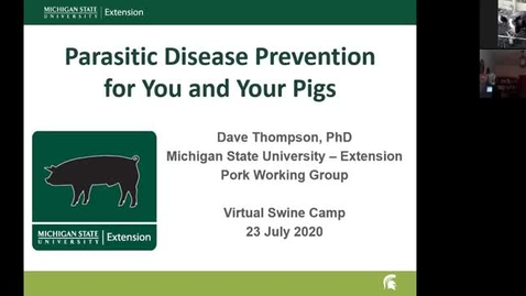 Thumbnail for entry Zoonotic Disease Prevention for you and your pigs