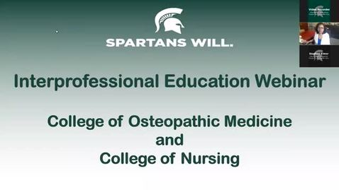 Thumbnail for entry Interprofessional Learning Event - 6.25.20 1pm