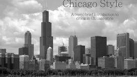 Thumbnail for entry Chicago Style Citing