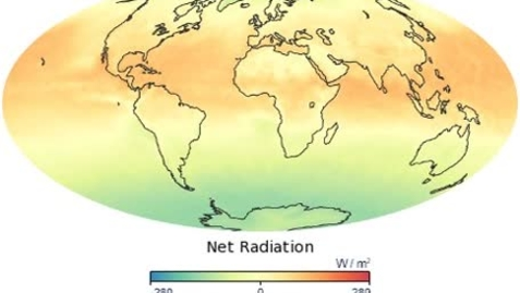 Thumbnail for entry Animation of Global Net Radiation