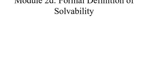 Thumbnail for entry Module02d-Solvability