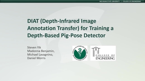 Thumbnail for entry DIAT (Depth-Infrared  Annotation  Transfer) for Pig-Pose Detection
