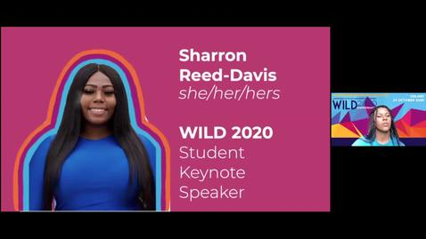 Thumbnail for entry WILD 2020 Student Keynote
