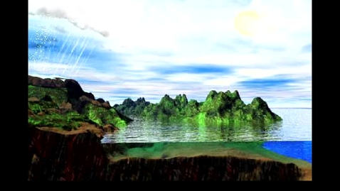 Thumbnail for entry GEO203v: Animation of the five processes of the hydrologic cycle