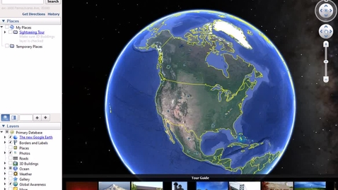 Thumbnail for entry Video demo on using Google Earth