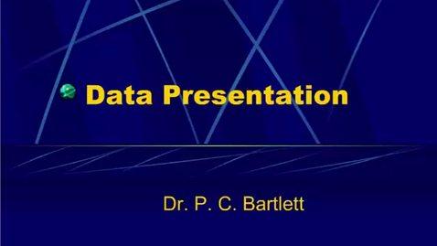 Thumbnail for entry HM864 Data Presentation