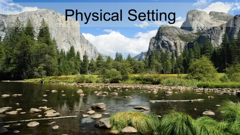 Thumbnail for entry GEO330: California: Physical Setting