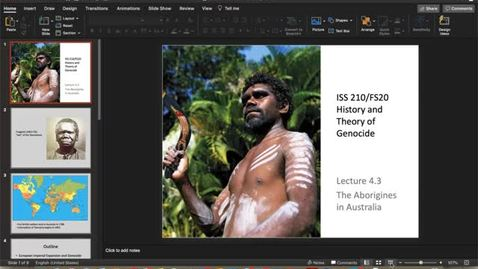 Thumbnail for entry Lecture 4.3 - Part 1
