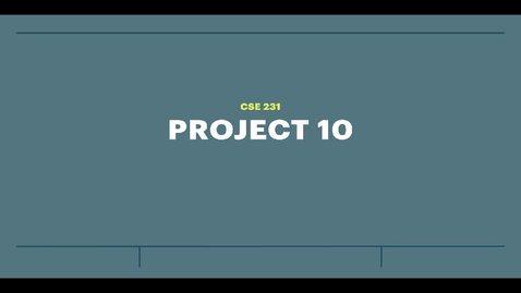 Thumbnail for entry proj10