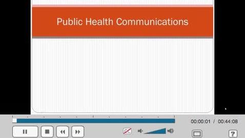 Thumbnail for entry HM804 sec730 Communications
