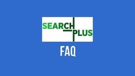 Thumbnail for entry SearchPlus FAQ