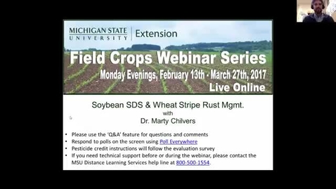 Thumbnail for entry Soybean SDS and Wheat Stripe Rust Management