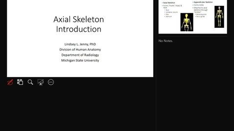 Thumbnail for entry Axial Skeleton Introduction
