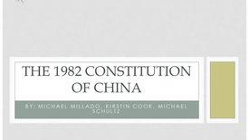 Thumbnail for entry ISS330B - 3 - The 1982 Constitution of China