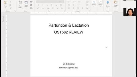 Thumbnail for entry OST582: Parturation and Lactation - Janice Schwartz - 5/12/2020
