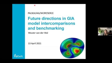 Thumbnail for entry WCRP/PALSEA/IAG Seminar Series April 13: Wouter van der Wal