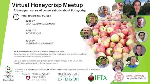 Thumbnail for entry Honeycrisp Virtual Meetup #1 - Crop Load Management Part 3 (Q&A)
