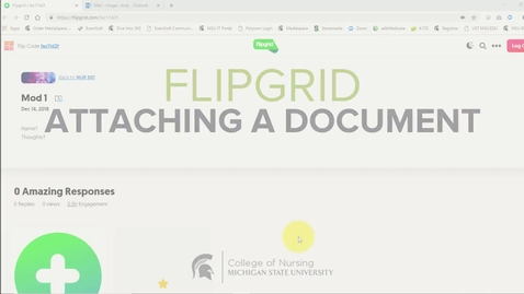 Thumbnail for entry FlipGrid - Attaching a document