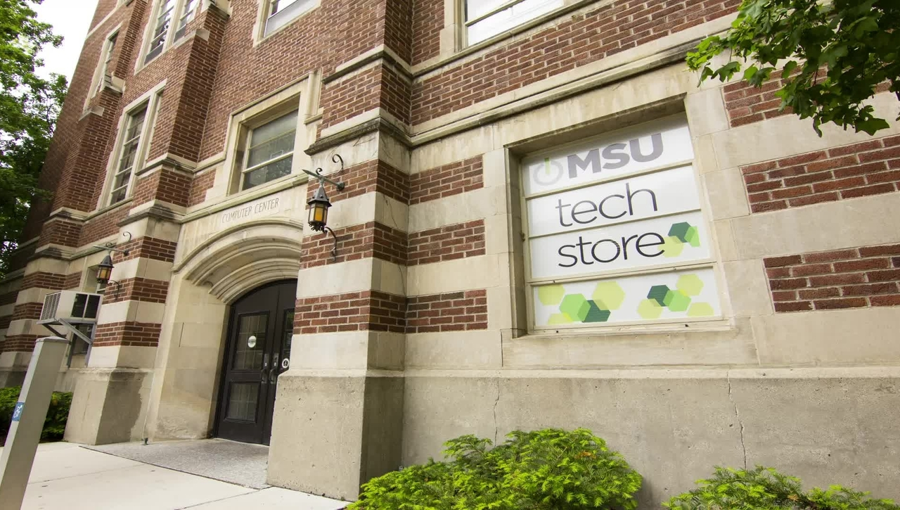 Get your Official Spartan Technology at the MSU Tech Store