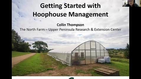 Thumbnail for entry Hoophouse management,  February 13, 2017