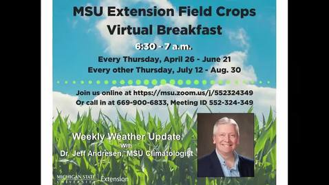 Thumbnail for entry Virtual Breakfast 7-26-18: Jeff Andresen, Weather Report