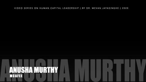 Thumbnail for entry Anusha Murthy - Full Upload