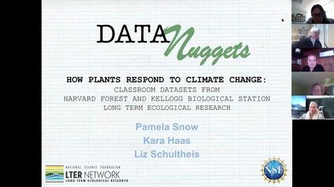 Thumbnail for entry How Plants Respond to Climate Change - Data Nuggets LTER Cross-Site Workshop