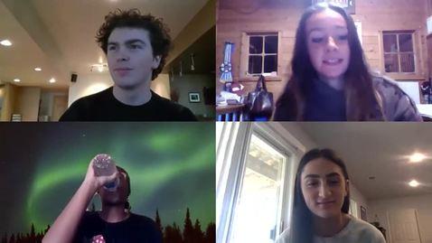 Thumbnail for entry Morgan Alex, Kenya Carter, Chris DeFinis, Kaitlyn Ripley