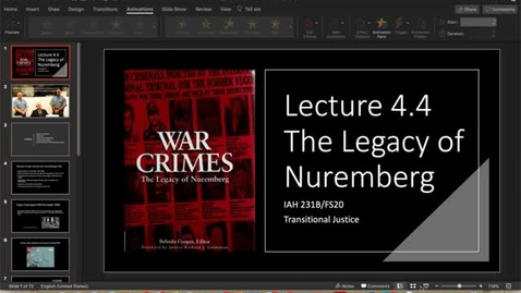 Thumbnail for entry Lecture 4.4 - Part 1