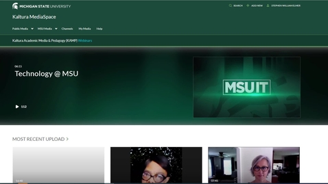 Thumbnail for entry Analytics in MediaSpace Channels and the D2L Course Media Gallery