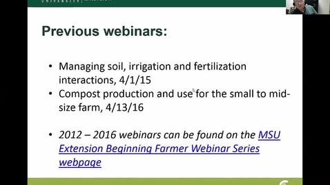 Thumbnail for entry Crop nutrient management   April 3, 2017