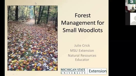 Thumbnail for entry Managing your farm woodlot  Jan 31 2018