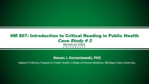 Thumbnail for entry HM807 LectureWeek-12case-Study3