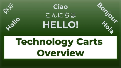 Thumbnail for entry Classroom Technology