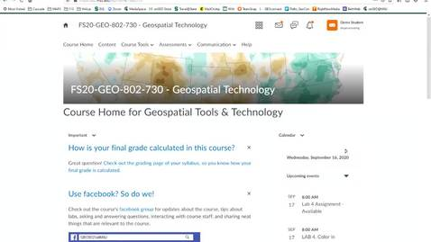 Thumbnail for entry How to view your grade and Instructor's feedback in a Lab Assignment or Exam (D2L Quizzes)