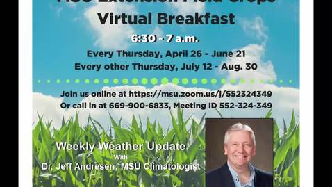 Thumbnail for entry Virtual Breakfast 8-23-18: Jeff Andresen, Weather Report