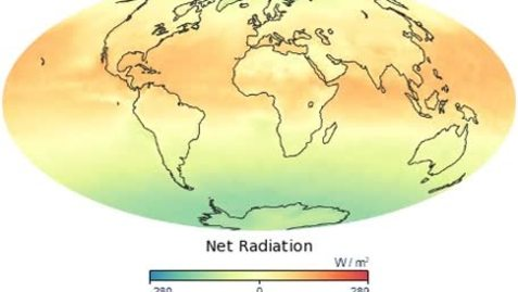 Thumbnail for entry Global Net Radiation Fluctuation Over the Year.
