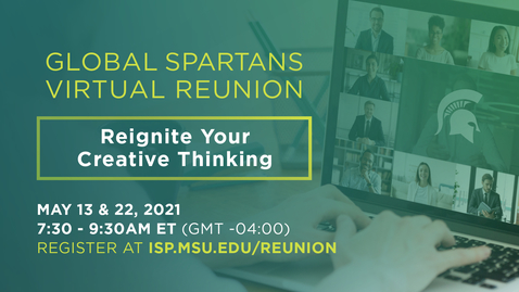 Thumbnail for entry Global Spartans Virtual Reunion 2021 | Day 1
